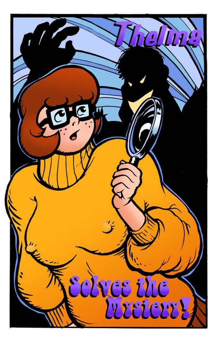 SureFap xxx porno Scooby Doo - Thelma - Solves The Mystery xxx porno