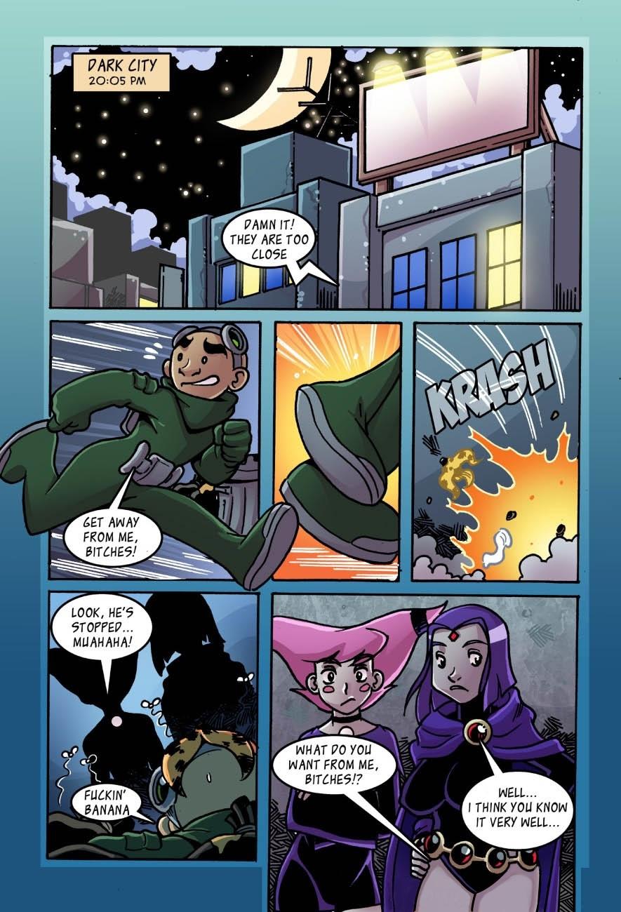 SureFap xxx porno The Teen Titans - [Comics-Toons] - Jinxed and Reven are Lesbians xxx porno