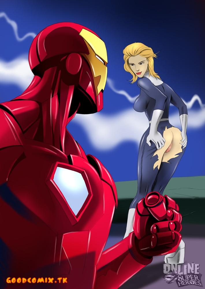 SureFap xxx porno Iron Man - Fantastic Four - [Online Super Heroes] - Porno Scene