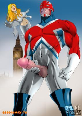 Captain Britain & Emma Frost-01