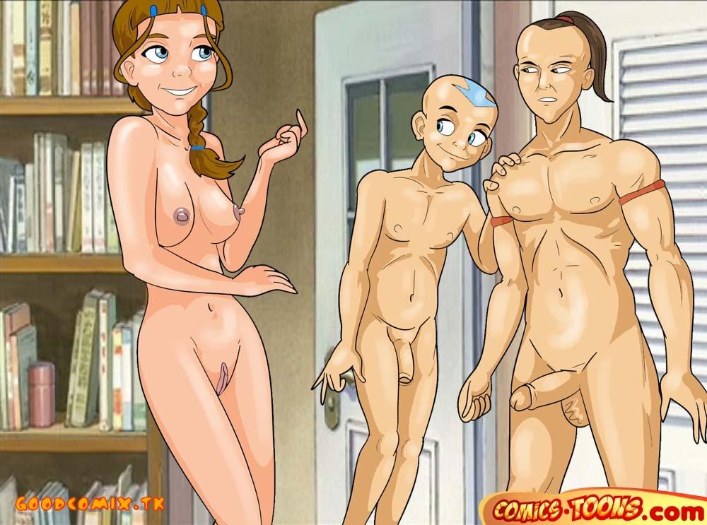 Avatar sex cartoon