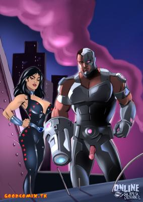 Cyborg And Donna Troy-01