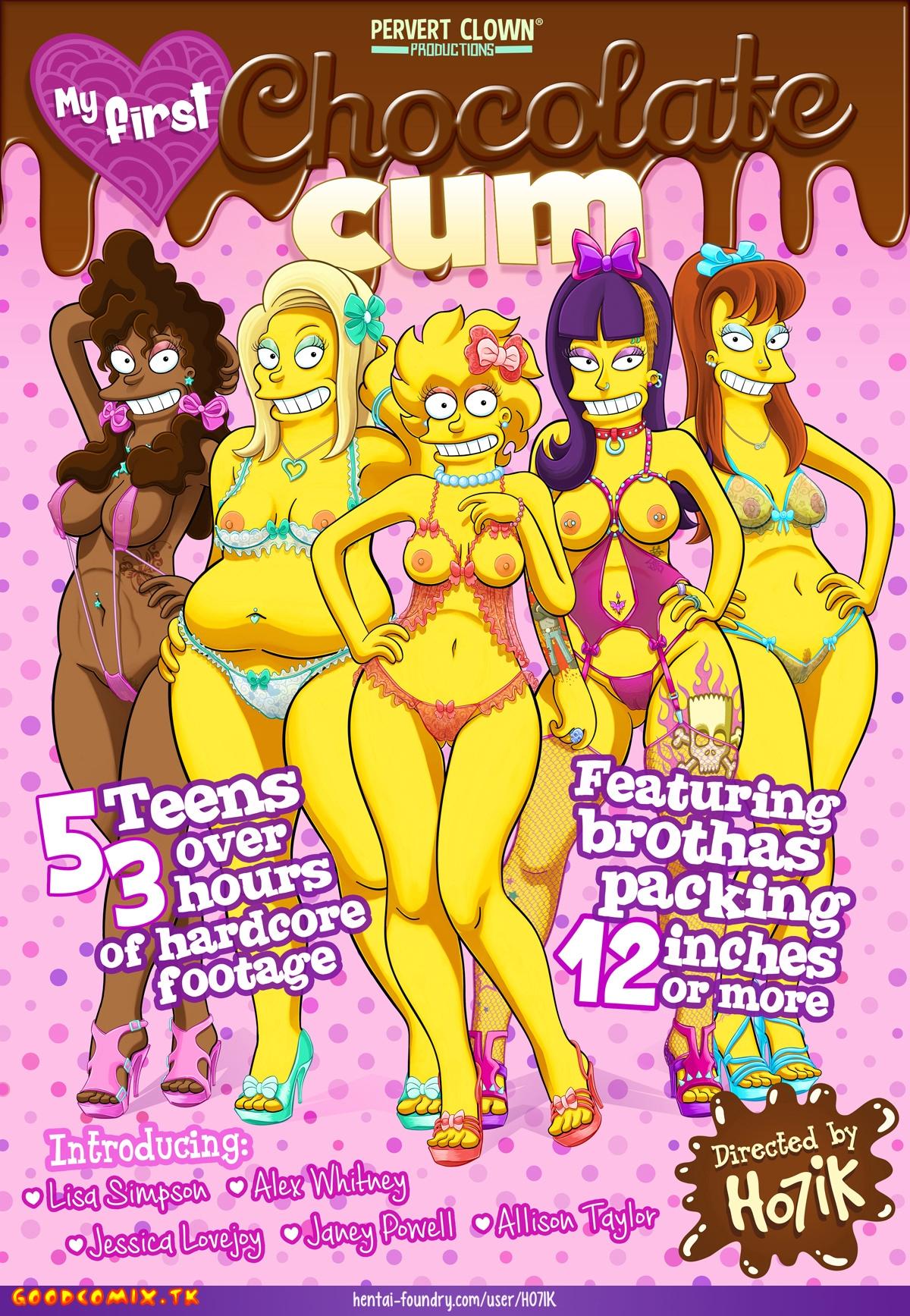 SureFap xxx porno The Simpsons - [Yb-Ho7ik] - My First Chocolate Cum