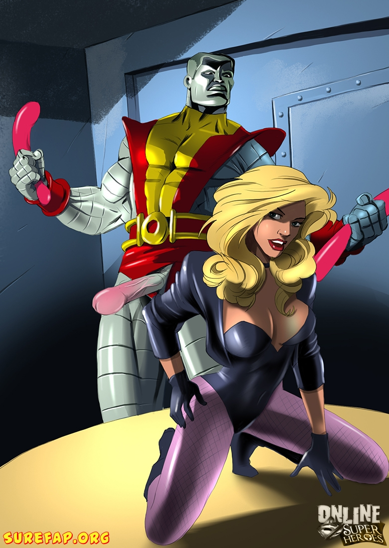 Black Canary Getting Hardcore Anal Sex Аrom Colossus  - 01