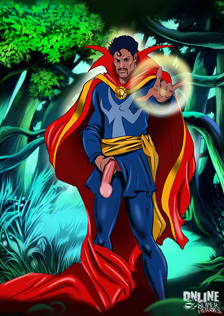 SureFap xxx porno Crossover Heroes - [Online SuperHeroes] - Invisible Woman Gets Kinky With Dr. Strange