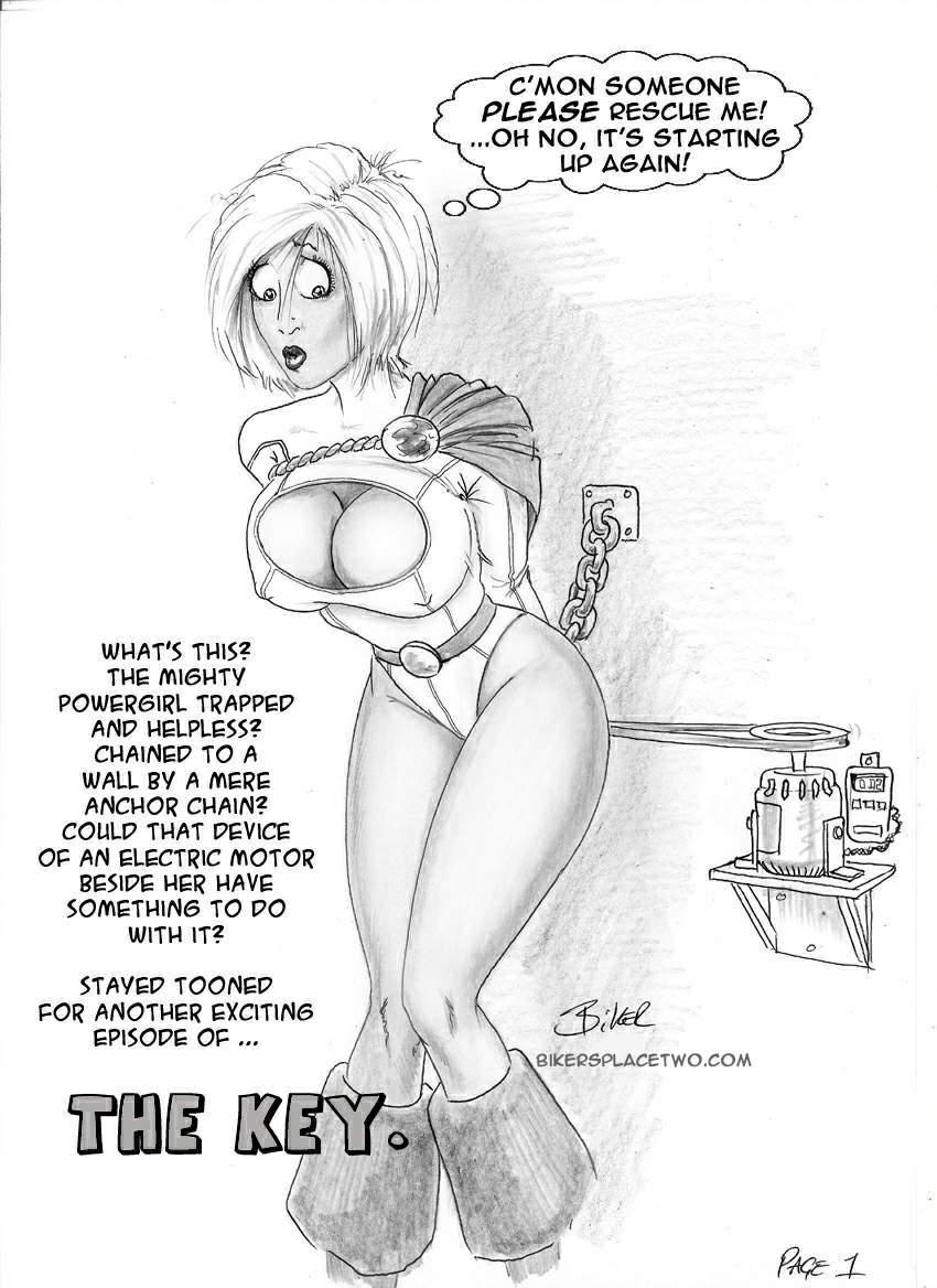 SureFap xxx porno DC Comics - [Biker Bloke] - The Key