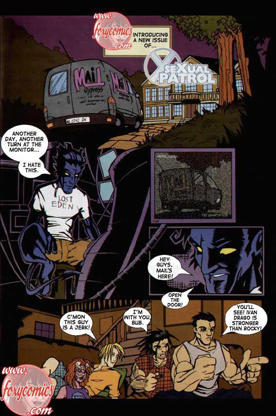 SureFap xxx porno X-Men - [Foxy Comics] - SeXual Patrol