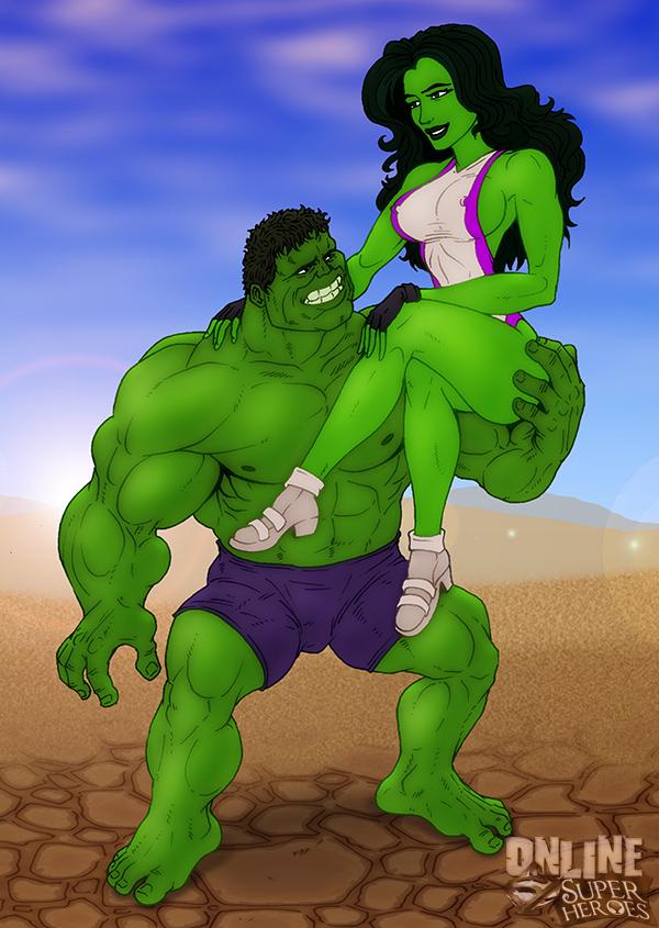 SureFap xxx porno The Incredible Hulk - [Online SuperHeroes] - Hulk and She-Hulk In A Hot Porno Shoot!