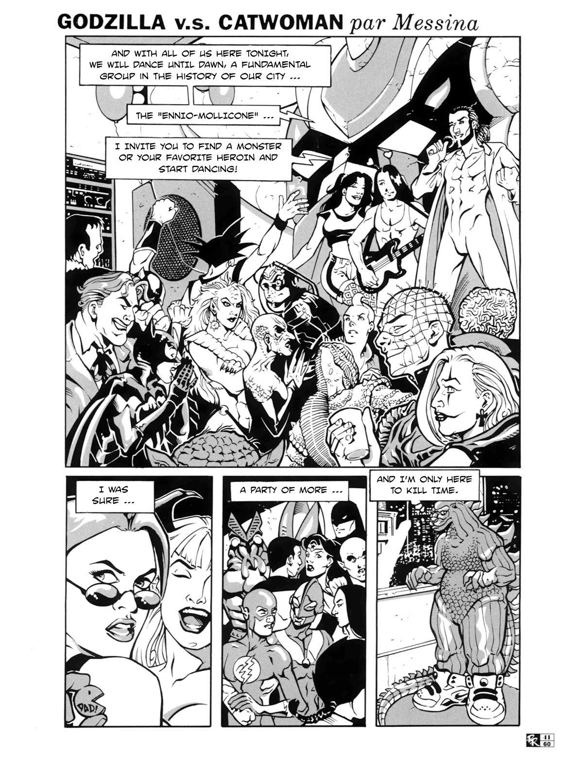 SureFap xxx porno Crossover - [Messina] - Godzilla V.S. Catwoman