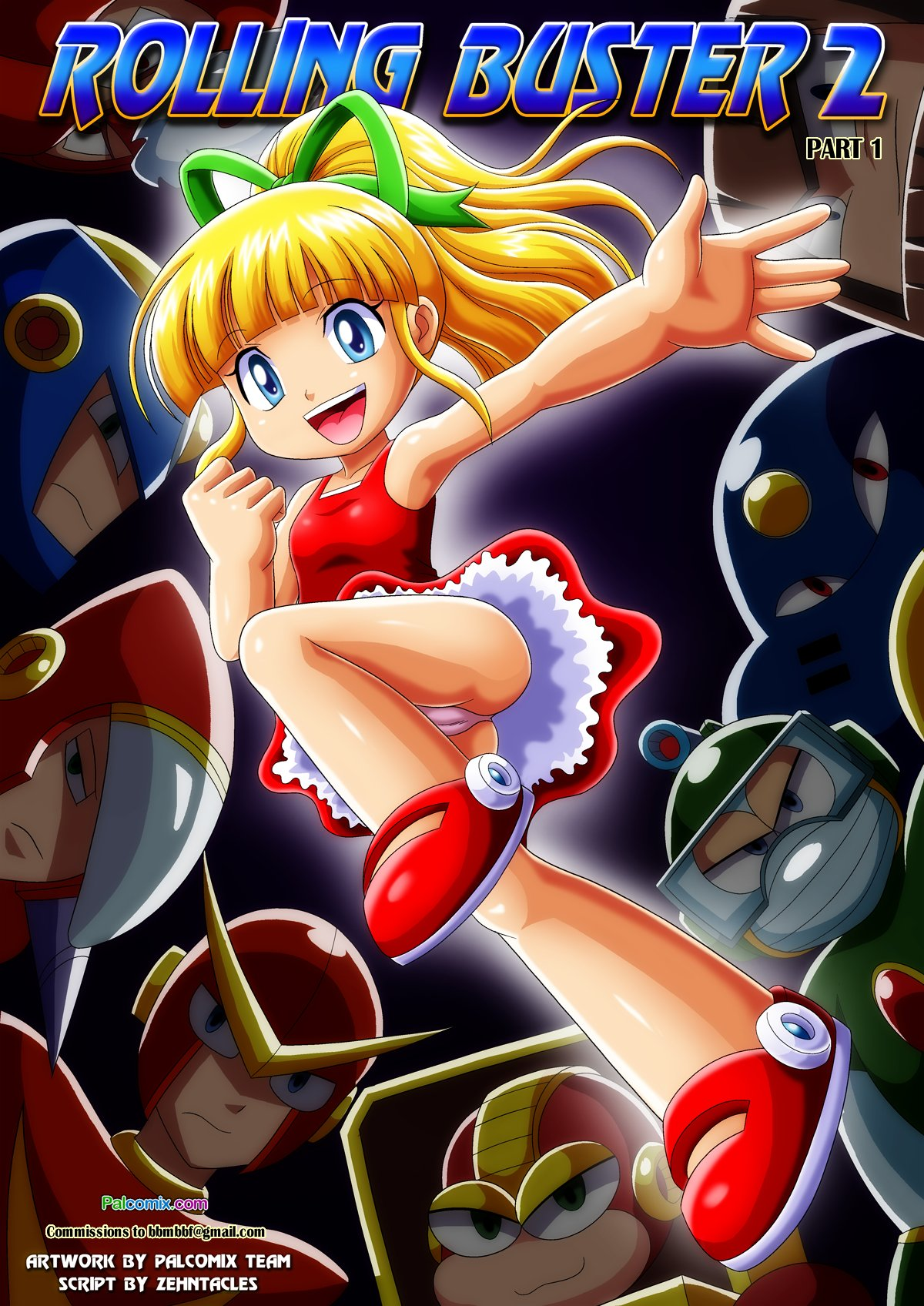 SureFap xxx porno Mega Man - [Palcomix] - Rolling Buster 2