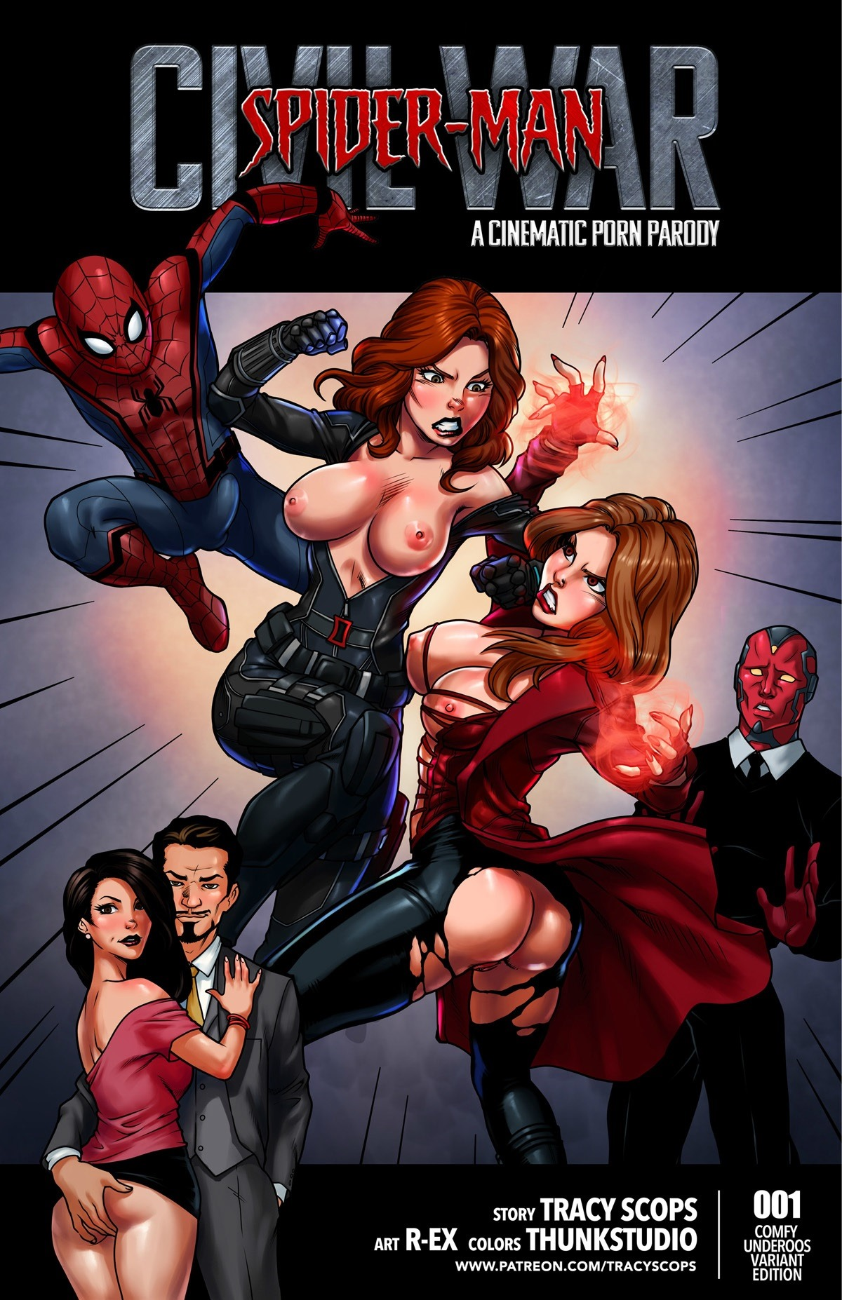 SureFap xxx porno Spider-Man - [Tracy Scops] - Civil War