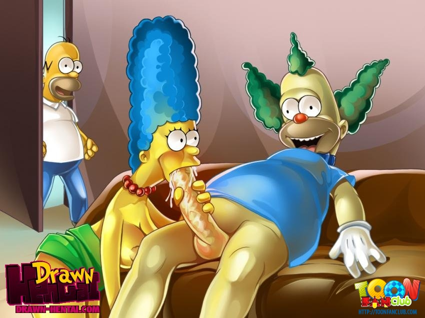 SureFap xxx porno The Simpsons - [Drawn Hentai][ToonFanClub] - Porno Orgy In The House Simpsons (two colors)
