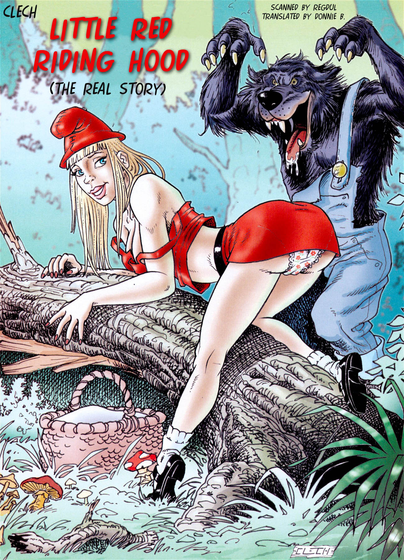 The fall of little red riding hood
