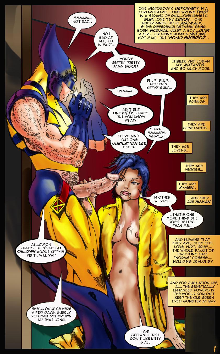 SureFap xxx porno X-Men - [X-Men Porn] - Hentai X Men Comics Porn. Begin of Adult Story