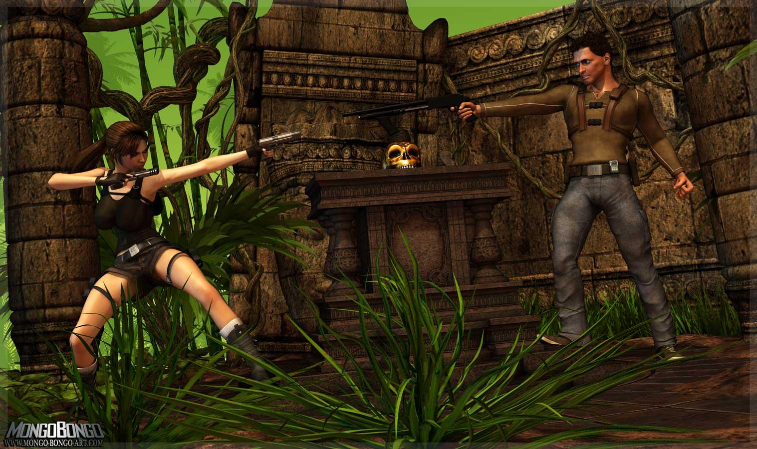 SureFap xxx porno Tomb Raider - [Mongo Bongo] - Lara Croft & Nathan Drake