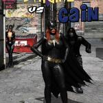 Batman - [MrBunnyArt] - Batgirl vs Cain