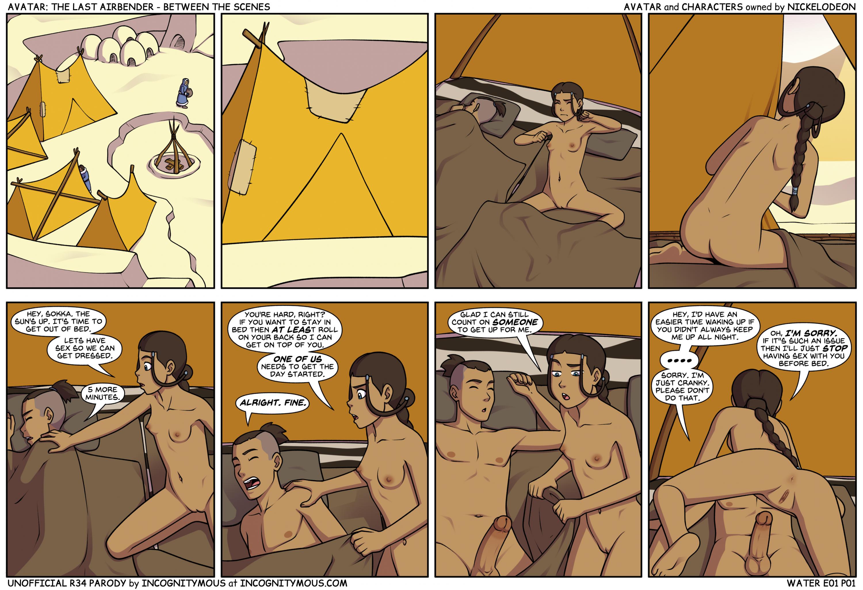 SureFap xxx porno Avatar the Last Airbender - [Incognitymous] - Between The Scenes