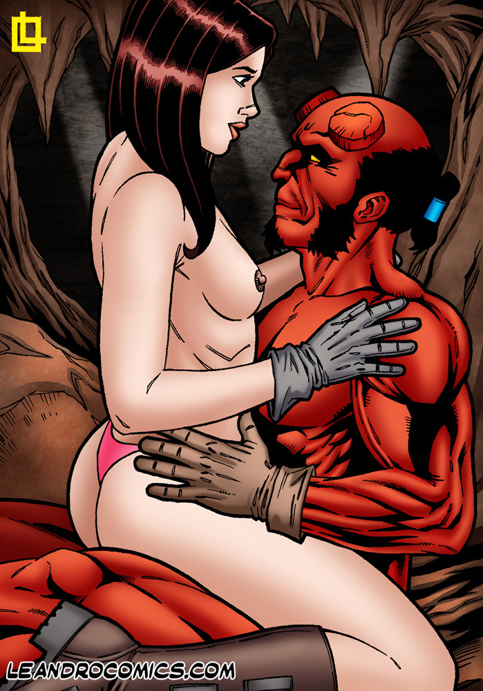 SureFap xxx porno Hellboy - [Leandro Comics] - Hellboy Has Kinky Hot Sex With The Naughty Liz