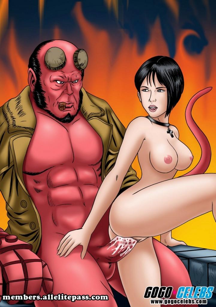 SureFap xxx porno Hellboy (Movie) - [GoGoCeleb] - Hot and Red
