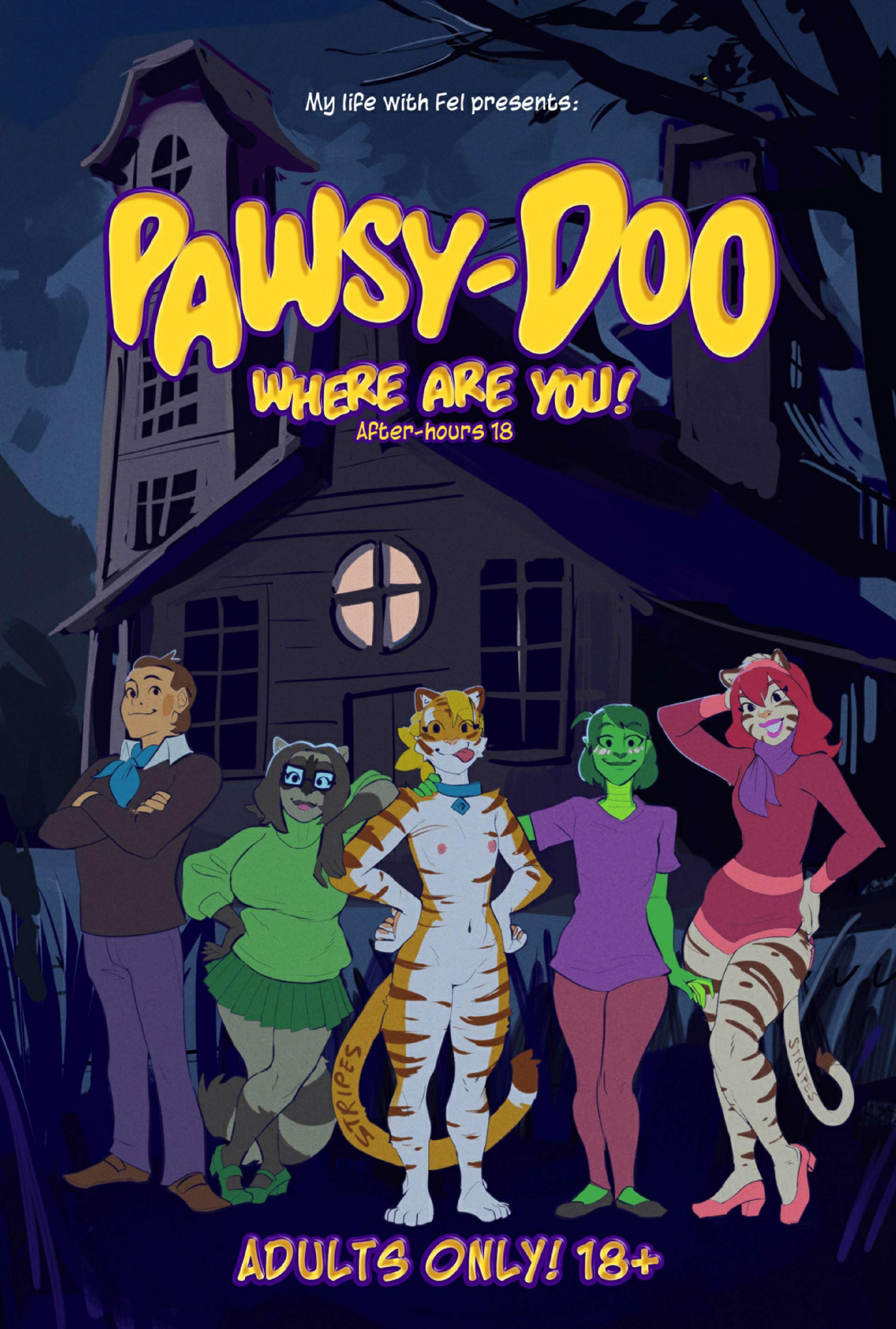 SureFap xxx porno Scooby Doo - [KennoArkkan] - MLWF: Pawsy-Doo Where Are You! - After-Hours 18
