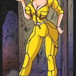 Teenage Mutant Ninja Turtles - [A.B.Lust][Greyhunter] - April Gets Captured