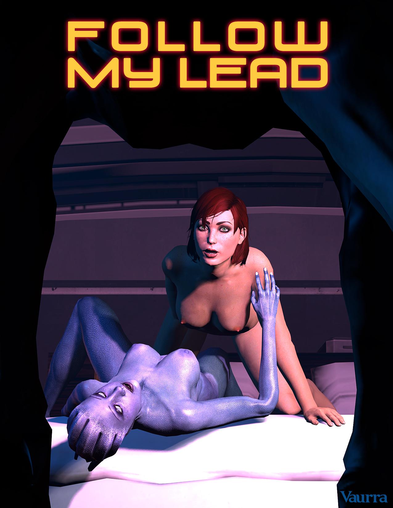 SureFap xxx porno Mass Effect - [Vaurra] - Follow My Lead