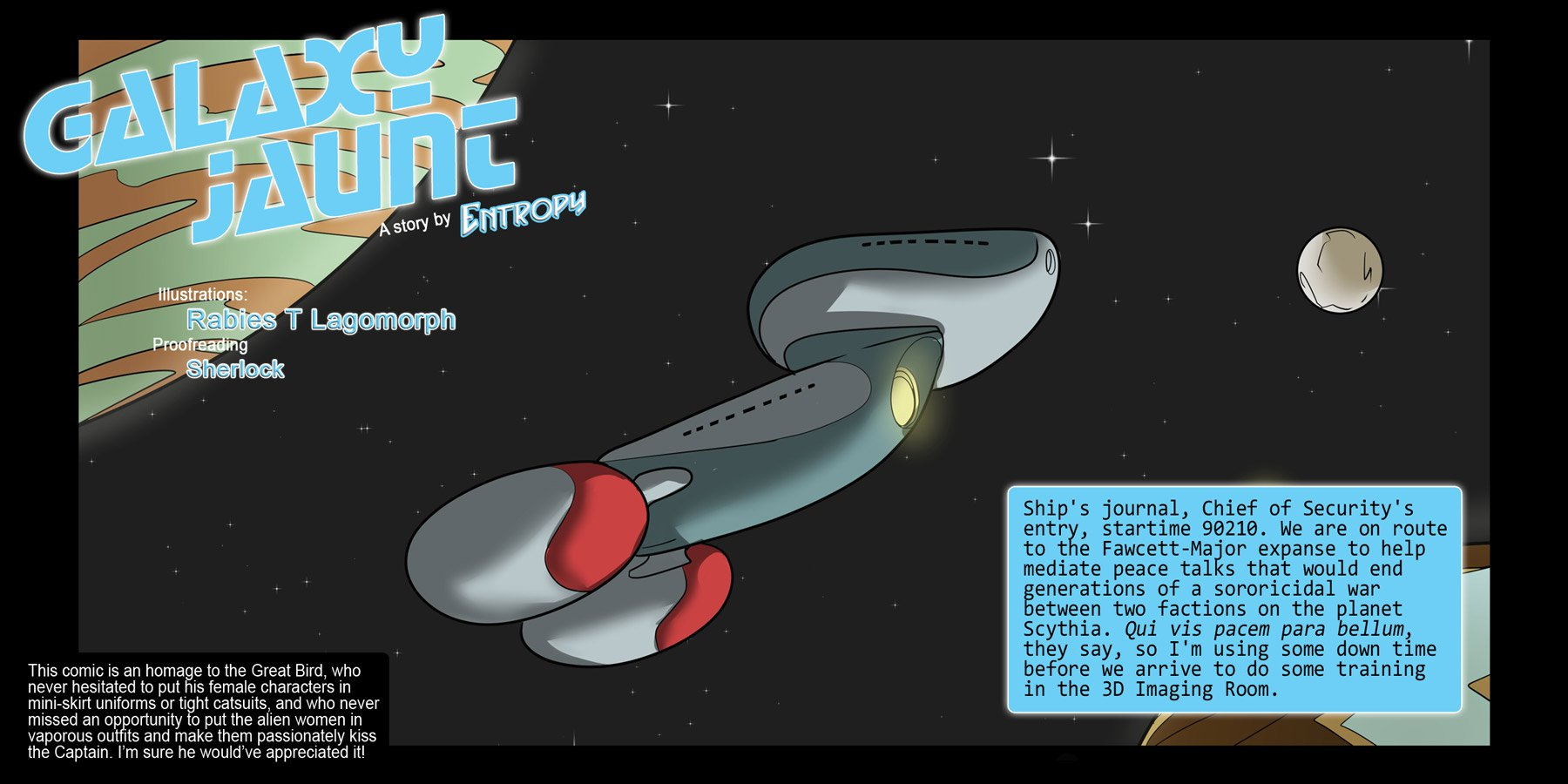 SureFap xxx porno Star Trek - [Rabies T Lagomorph (Entropy)] - Galaxy Jaunt - Episode 2