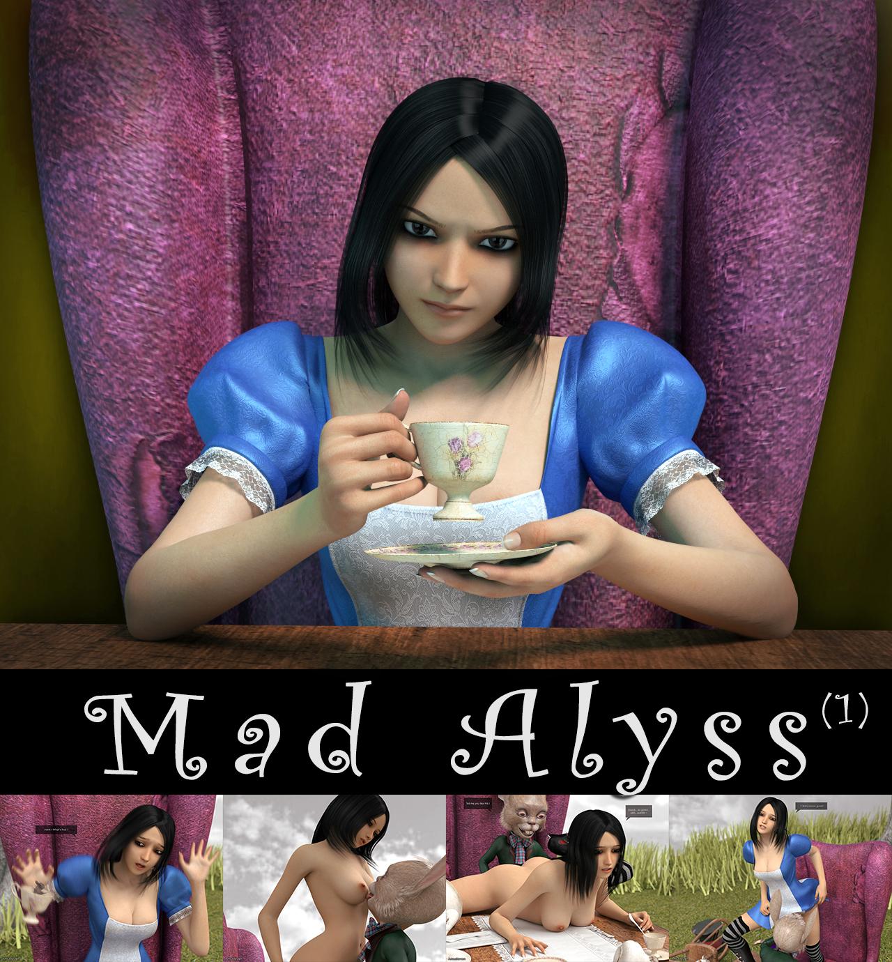 SureFap xxx porno Alice in Wonderland - [Amusteven] - Mad Alyss