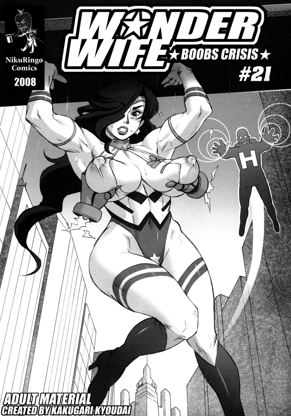 SureFap xxx porno Wonder Woman - [Nikuringo] - Wonder Wife: Boobs Crisis #21