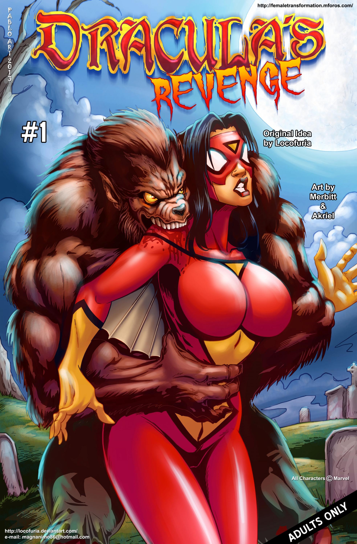 SureFap xxx porno Spider-Woman - [Locofuria] - Dracula's Revenge