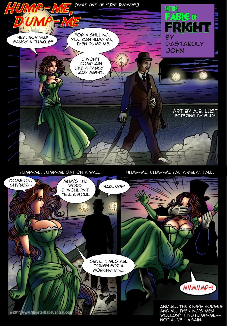 SureFap xxx porno Jack the Ripper - [HorrorBabeCentral][A.B. Lust] - Part.1 - Hump-Me, Dump-Me