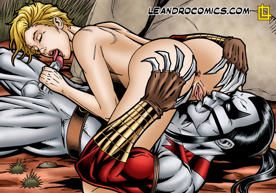 SureFap xxx porno Cyberforce - [Leandro Comics] - Ripclaw Gives The Beautiful Ballistic The Fuck of Her Life
