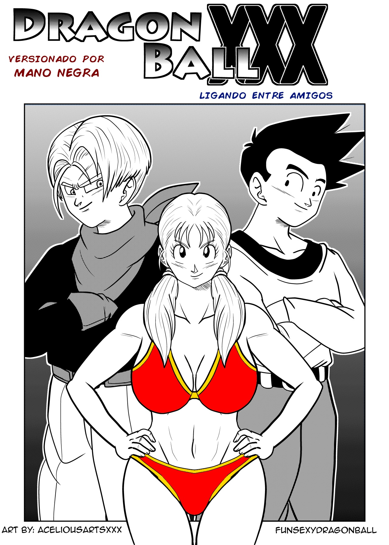 SureFap xxx porno Dragon Ball - [FunsexyDragonBall (FunSexyDB)] - Chase After Me: Goten x Marron x Trunks