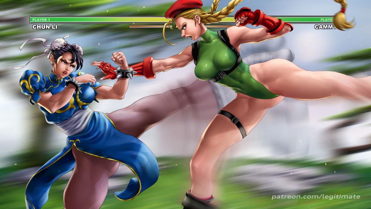 SureFap xxx porno Street Fighter - [Legitimate] - Chun-Li x Cammy