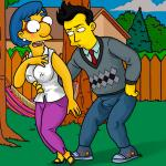 The Simpsons - [XL-Toons] - Milhouse's Mom Has Sex With A Younger Man