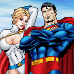 Superman - [Leandro Comics] - Power Girl Gets Drilled by Superman's Dick of Steel!
