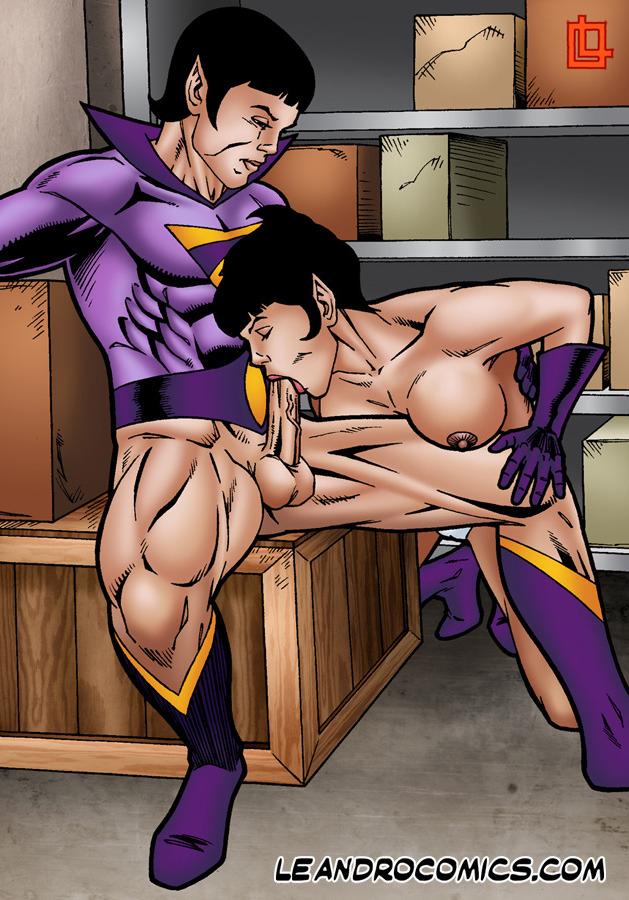SureFap xxx porno DC Comics - [Leandro Comics] - Zan Bangs Jayna's Ass and Fills Her Mouth With Cum (Wonder Twins)