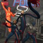 Fantastic Four - [Danger Babe Central] - Far Away Four!
