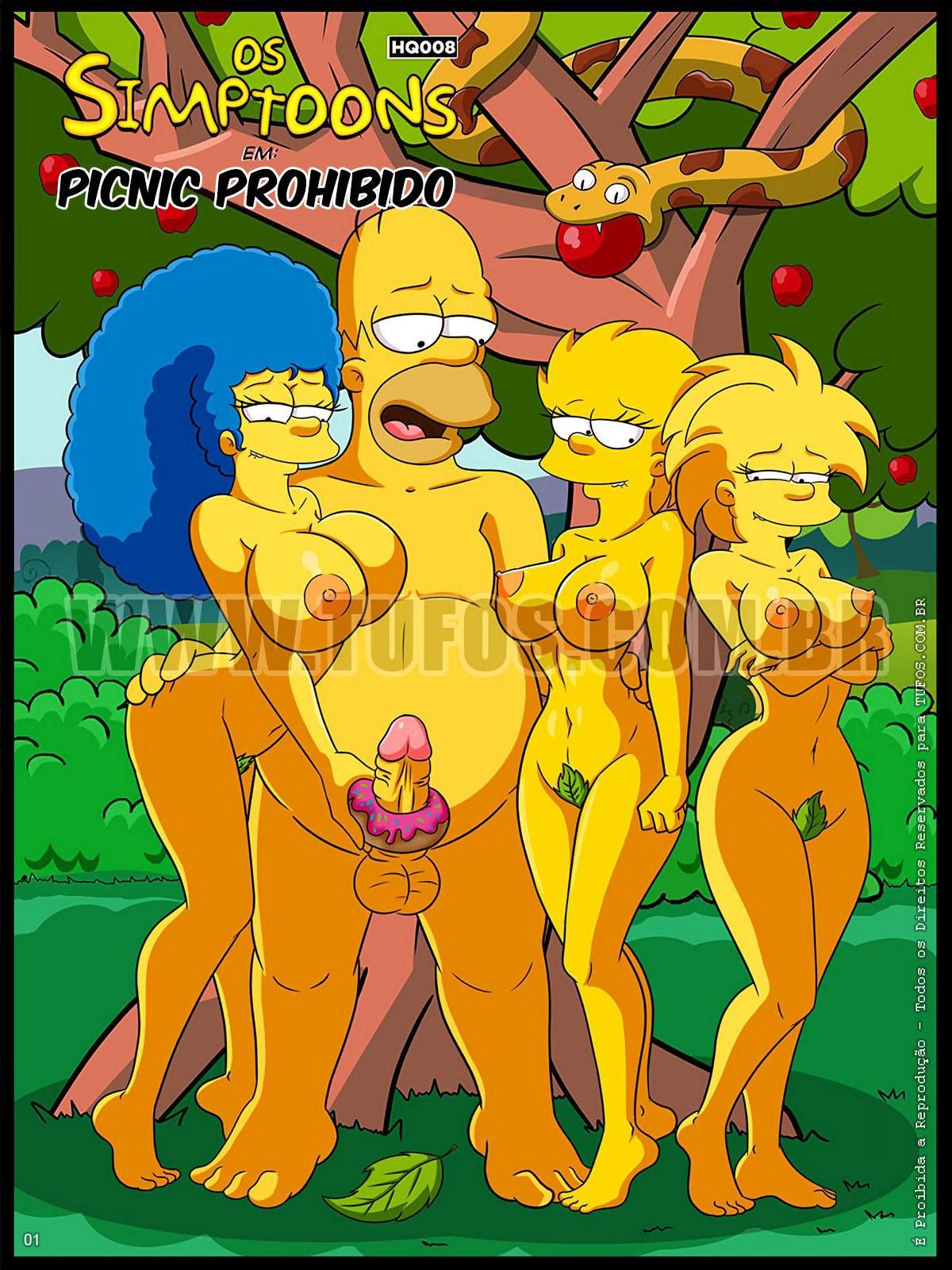 SureFap xxx porno The Simpsons - [Tufos] - Os Simptoons 008 - Piquenique Proibido