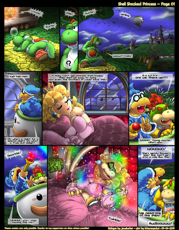 SureFap xxx porno Super Mario Bros - [Kitsune Youkai] - Shell Shocked Princess