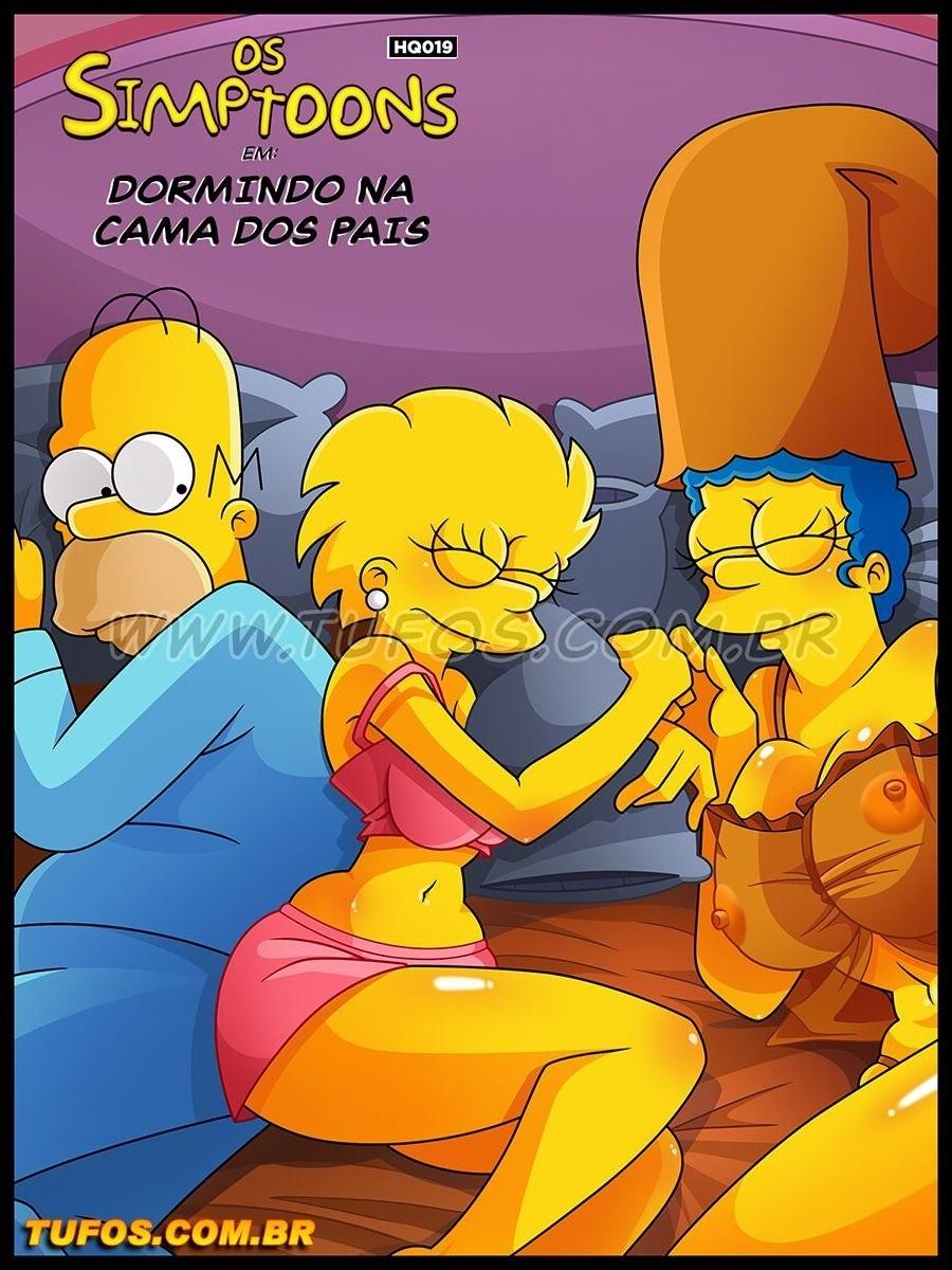 SureFap xxx porno The Simpsons - [Tufos][Croc] - Os Simptoons 019 - Dormindo Na Cama Dos Pais
