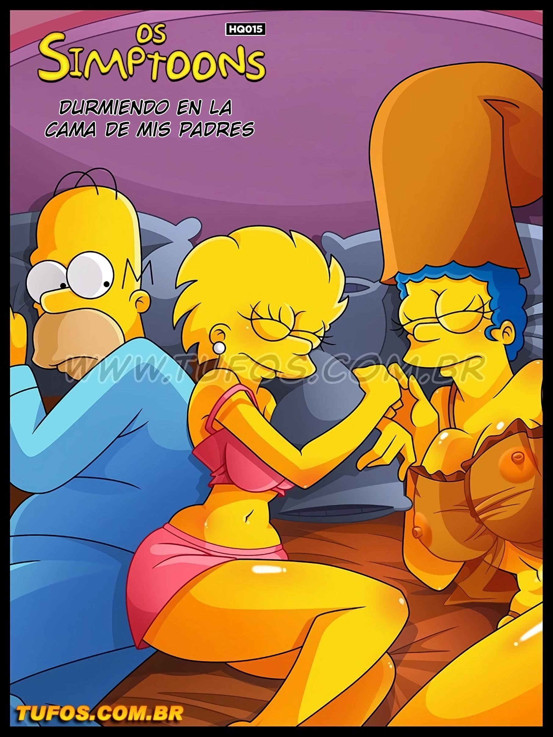 SureFap xxx porno The Simpsons - [Tufos] - Os Simptoons 015 - Dormindo Na Cama Dos Pais