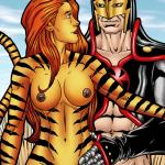 Marvel Universe & Marvel Comics - [Leandro Comics][Gallery66] - Tigra Gets Wild And Kinky With The Black Knight's Meat Sword