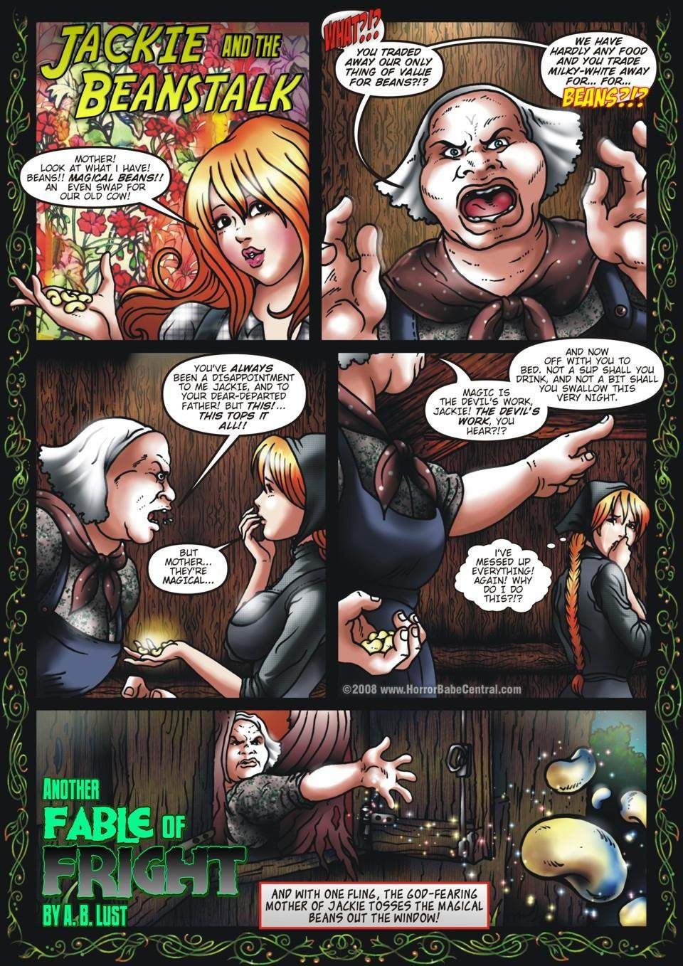 SureFap xxx porno Jack and the Beanstalk - [HorrorBabeCentral][A.B. Lust] - Another Fable of Fright - Jackie and the Beanstalk Part 1 of 3