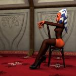 Star Wars - [Kondas Peter (Kondaspeter1)] - Ahsoka In A Mandalorian Ship