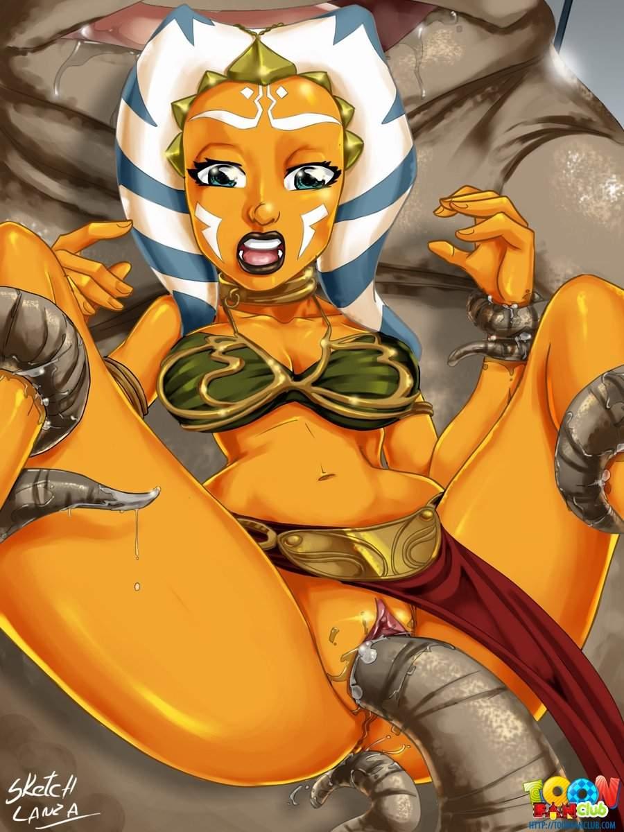 SureFap xxx porno Star Wars - [ToonFanClub][Sketch Lanza] - Ahsoka Testing Sex