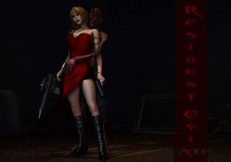 SureFap xxx porno Resident Evil - [Mongo Bongo] - Alice & Zombie