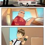Ben 10 - [Trash Trash] - Amazing Adventures of Gwen and Her Abusive Grandfather