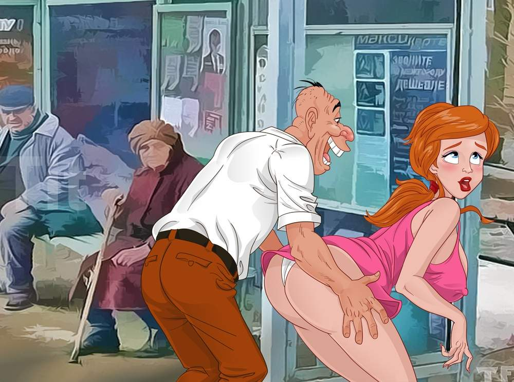 SureFap xxx porno The Little Mermaid - [TitFlaviy] - The Adventures Of Ariel In The Modern World #17 Ariel Pays The Toll at the Bus Stop