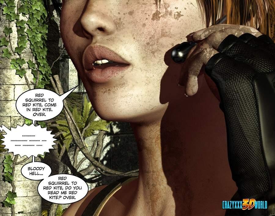 SureFap xxx porno Tomb Raider - [Crazyxxx3DWorld][Epoch] - Clara Ravens 1